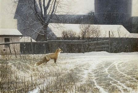Where Paths Cross by Michael Budden art print