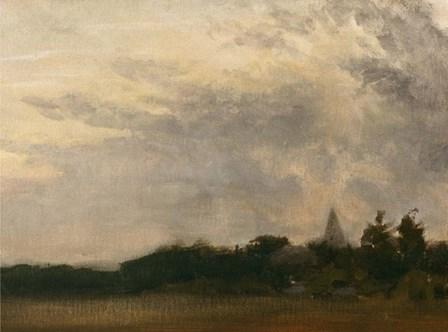 Evening's Approach by Michael Budden art print
