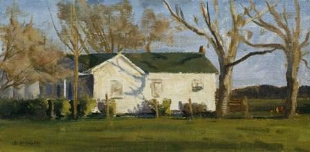 Columbus Farm House by Michael Budden art print