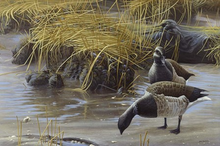 Nauesink River Mates by Michael Budden art print