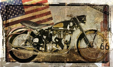 Road Demon by Mindy Sommers art print