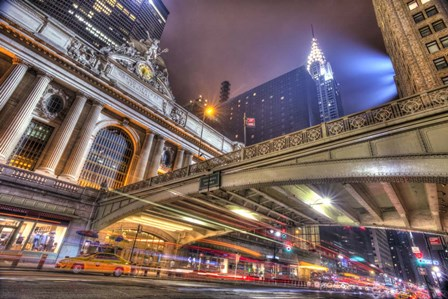 Grand Central by Moises Levy art print