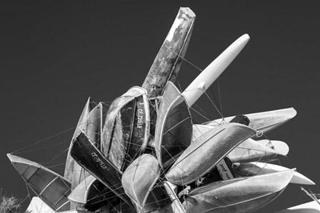 Sky Boats by Moises Levy art print
