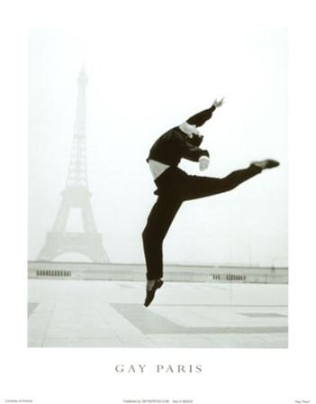 Gay Paris art print