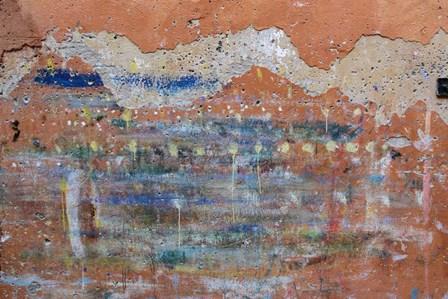 Graffiti Landscape by Robert Goldwitz art print