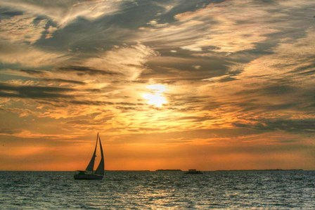 Key West Sunset II by Robert Goldwitz art print