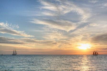 Key West Sunset III by Robert Goldwitz art print