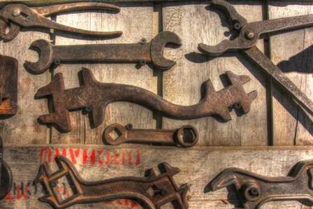 Wrench Wall by Robert Goldwitz art print