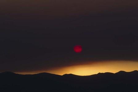 Desert Sunrise 1 by Rob Lang art print