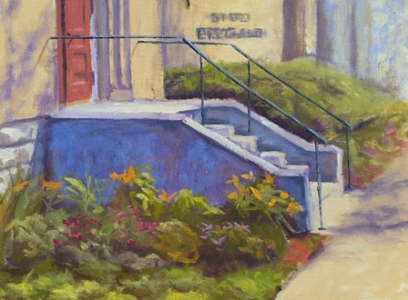Steps by Rusty Frentner art print