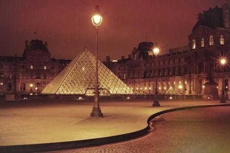Louvre by Sebastien Lory art print