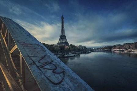 Seine by Sebastien Lory art print
