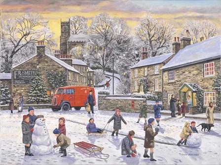 Christmas Holidays by Trevor Mitchell art print