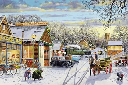 Winter Service by Trevor Mitchell art print