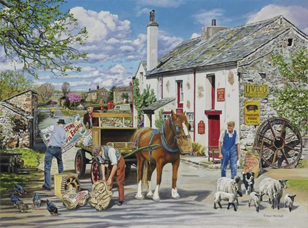 The Old Mill by Trevor Mitchell art print