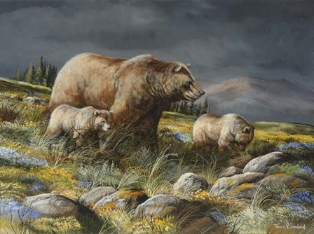 Before The Storm by Trevor V. Swanson art print