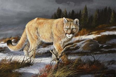 Evening Hunter by Trevor V. Swanson art print