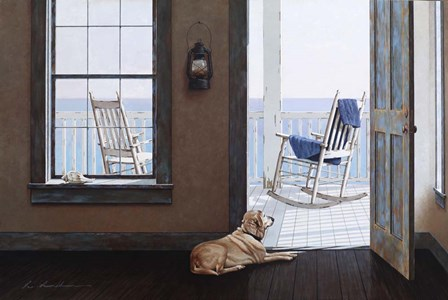 Look Over The Sea by Zhen-Huan Lu art print