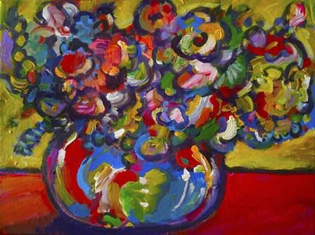 Flowers by Howie Green art print