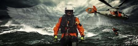 Deep Blue Rescue by Jason Bullard art print