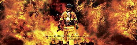Fireman's Noble Call by Jason Bullard art print