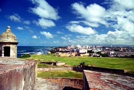 San Juan, Puerto Rico 1 by J.D. McFarlan art print
