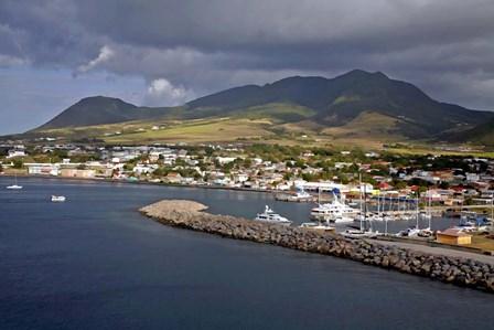 St Kitts by J.D. McFarlan art print