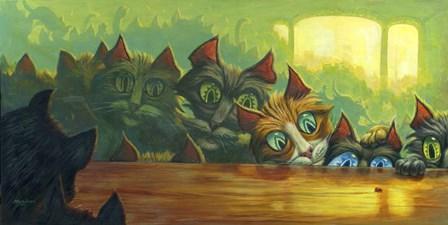 The Intruder by Jeff Haynie art print
