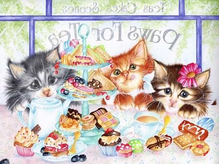 Sugar Lumps by Karen Middleton art print