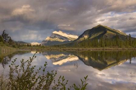 Vermillion Lakes by Adam Burton art print