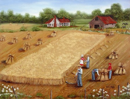The Wheat Field by Arie Reinhardt Taylor art print