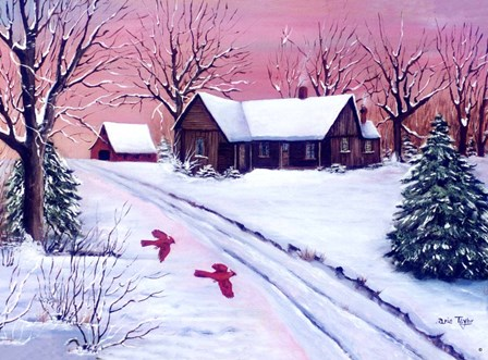 Red Dawn by Arie Reinhardt Taylor art print