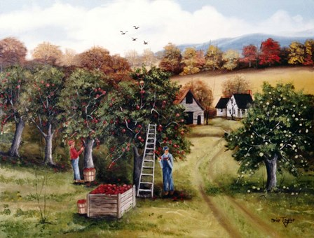 The Apple Orchard by Arie Reinhardt Taylor art print