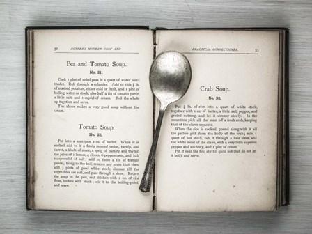 Book & Spoon 2 by Assaf Frank art print