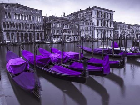 Purple Gondolas 1 by Assaf Frank art print