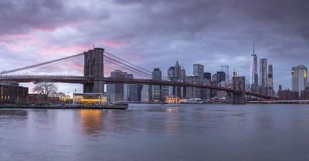 Brooklyn Bridge by Assaf Frank art print