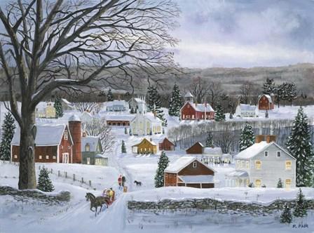 Peaceful Valley Road by Bob Fair art print