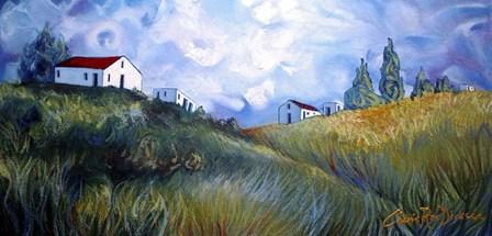 Windswept Landscape by Cherie Roe Dirksen art print