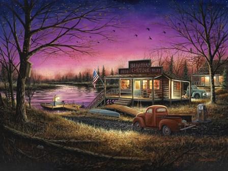 A Perfect Evening by Chuck Black art print