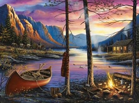 Home Sweet Home by Chuck Black art print