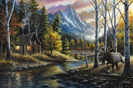 Living the Dream by Chuck Black art print