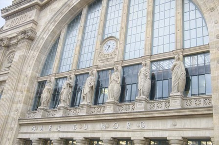 Gare du Nord Station II by Cora Niele art print
