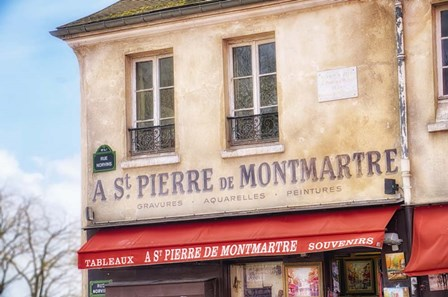 Monmartre Shop 2 by Cora Niele art print