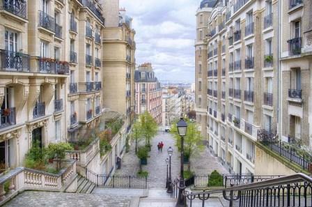 Montmartre by Cora Niele art print