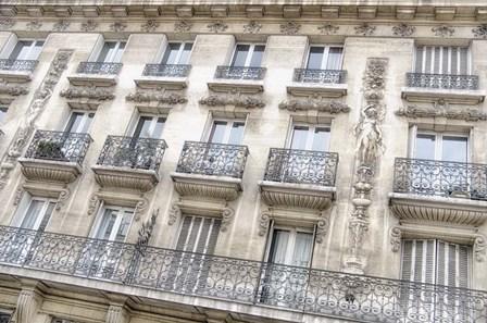 Paris Apartement Building I by Cora Niele art print