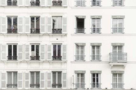 Paris Apartement Building II by Cora Niele art print