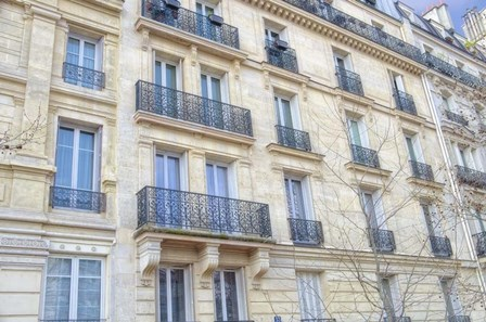 Paris Apartement Building III by Cora Niele art print