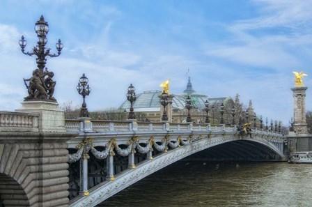 Pont Alexandre III - I by Cora Niele art print