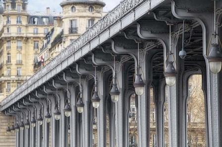 Pont de Bir Hakeim by Cora Niele art print