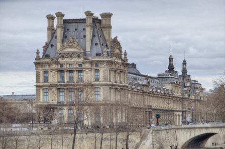 The Louvre And Pont Royal by Cora Niele art print
